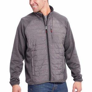 ORVIS Men's Hybrid Jacket, XL, Charcoal Grey